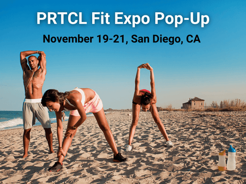 PRTCL Fit Expo in San Diego, California