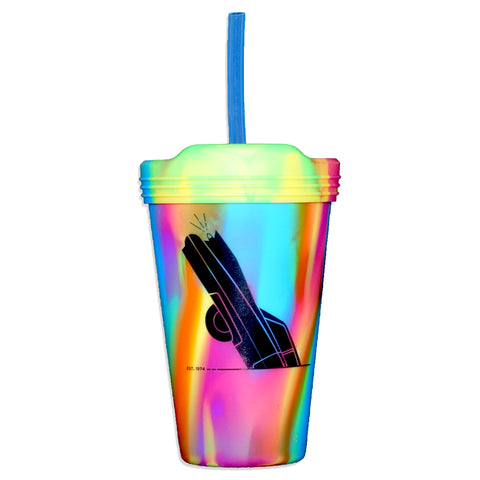 Cadillac Ranch Silipint Pint Glass        (Black Logo/White Logo)