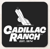 Cadillac Ranch Square Coaster Pack of 6