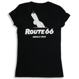 Cadillac Ranch Route 66 Women's V-Neck T-Shirt (Two Color Options)