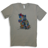 CMYK Cadillac Ranch T-Shirt