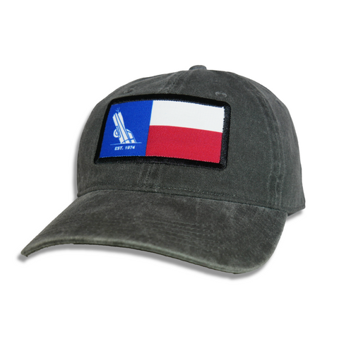 Texas Flag Cadillac Ranch Relaxed Fit Strapback Hat