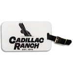 Cadillac Ranch Golf Bag Tag