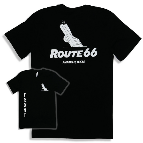Cadillac Ranch Route 66 T-Shirt (Multiple Color Options)