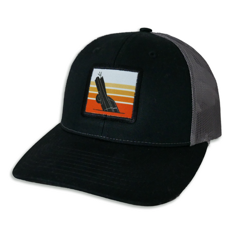 CADILLAC RANCH SUNSET LOW PRO TRUCKER HAT