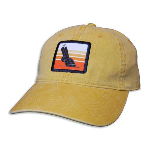 CADILLAC RANCH SUNSET RELAXED FIT STRAP BACK HAT
