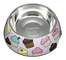 Load image into Gallery viewer, FuzzYard Fresh Cupcakes Easy Feeder Pet Bowl