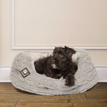 Load image into Gallery viewer, Danish Design  Bobble Soft Pewter Deluxe Slumber Bed