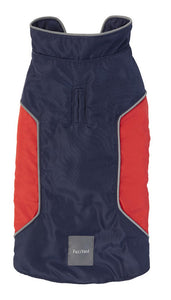 FuzzYard Pac Jacket Navy/Red