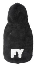 Load image into Gallery viewer, FuzzYard Teddy Hoodie - Black