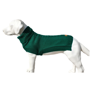 Canine and Co The Jazz Dog Jumper in Green