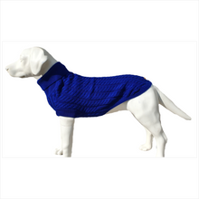Load image into Gallery viewer, Canine and Co The Rascal Dog Jumper in Blue