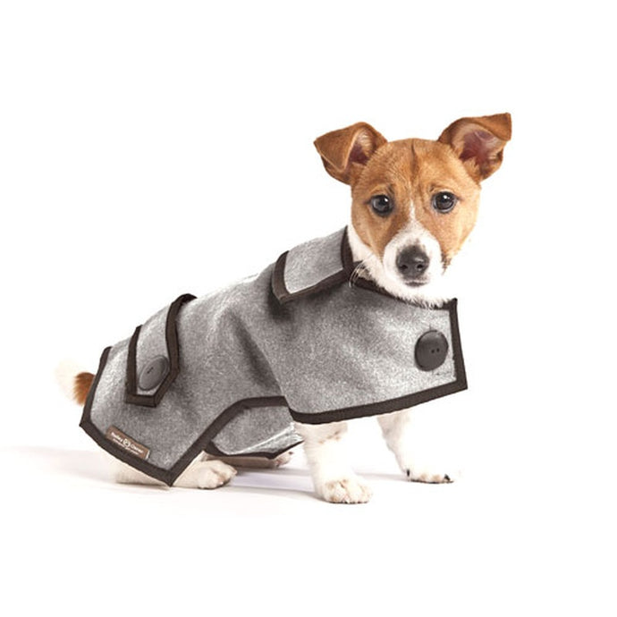 Hailey & Oscar Pet Wear Designer Casual Wool Coat
