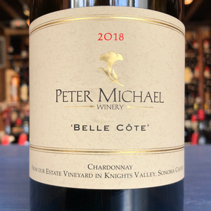 PETER MICHAEL WINERY CHARDONNAY BELLE-COTE 2018