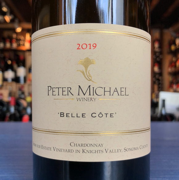 PETER MICHAEL WINERY CHARDONNAY BELLE-COTE 2019