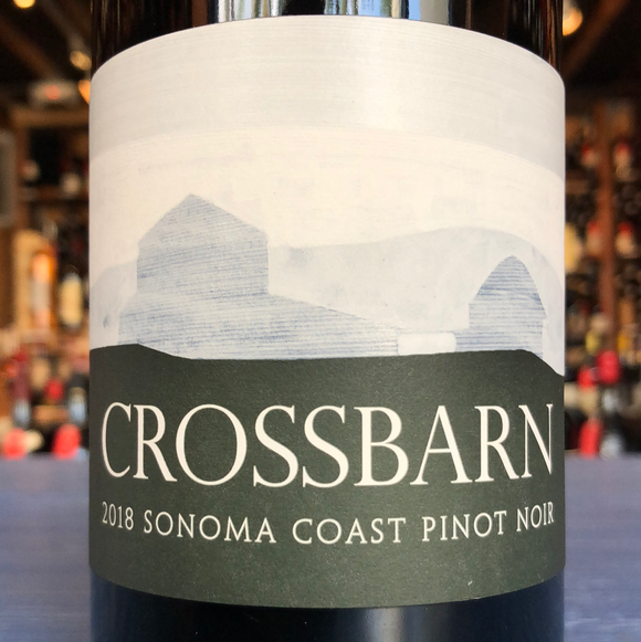 PAUL HOBBS CROSSBARN WINERY SONOMA COAST PINOT NOIR 2018