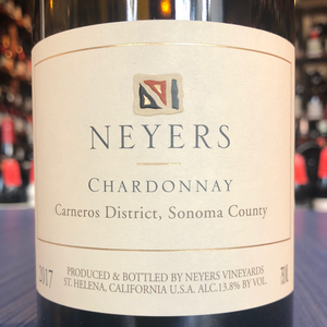 NEYERS VINEYARDS CHARDONNAY CARNEROS 2018