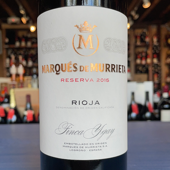 MARQUES DE MURRIETA RIOJA RESERVA 2015