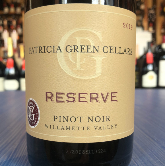 PATRICIA GREEN CELLARS RESERVE PINOT NOIR 2019