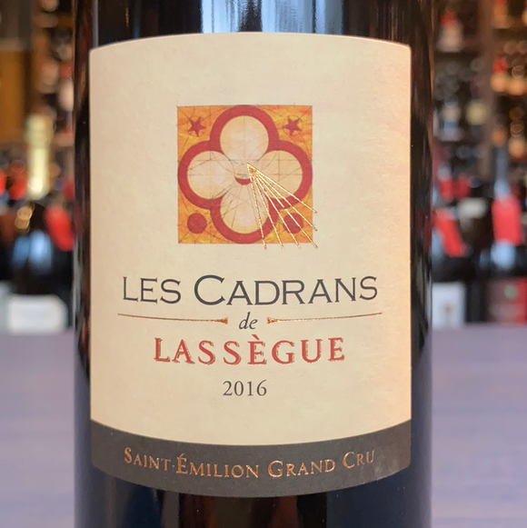 CHATEAU LASSEGUE LES CADRANS DE LASSEGUE 2016