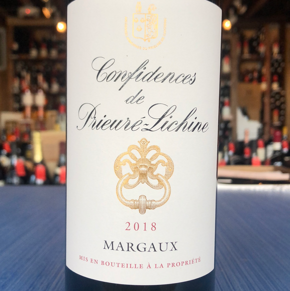 CONFIDENCES DE PRIEURE-LICHINE MARGAUX 2018