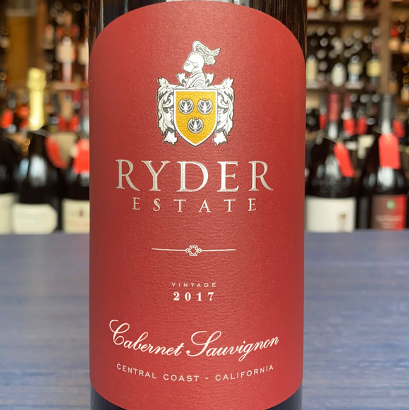 RYDER ESTATE CENTRAL COAST CABERNET SAUVIGNON 2017
