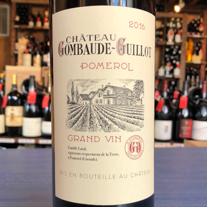 CHATEAU GOMBAUDE-GUILLOT POMEROL 2016