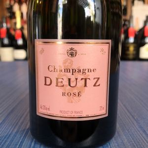 CHAMPAGNE DEUTZ BRUT ROSE NV 375ML