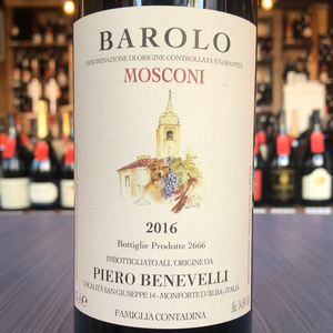 BENEVELLI PIERO MOSCONI BAROLO 2016