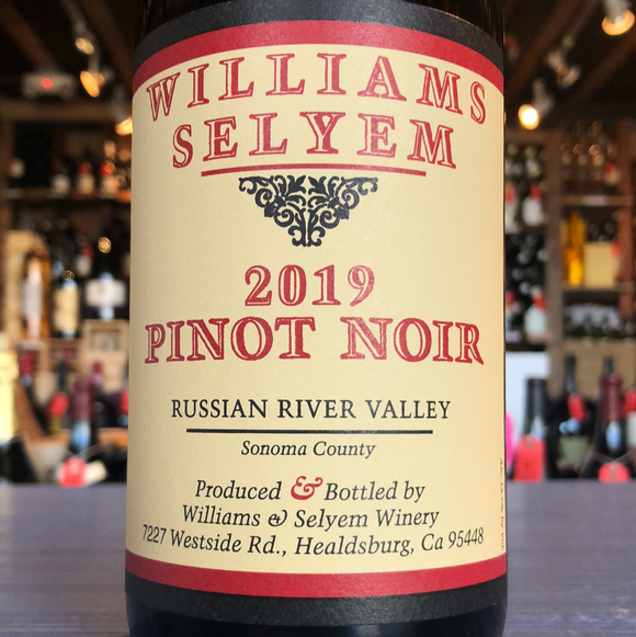 WILLIAMS SELYEM RUSSIAN RIVER PINOT NOIR 2019