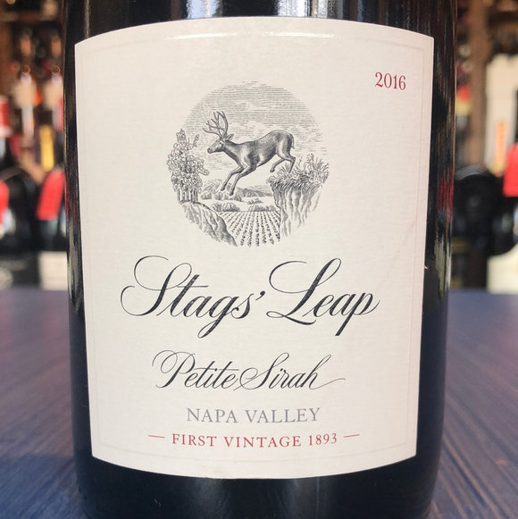 STAGS' LEAP WINERY NAPA VALLEY PETITE SIRAH 2016