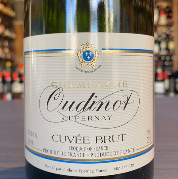 CHAMPAGNE OUDINOT CUVÉE BRUT NV