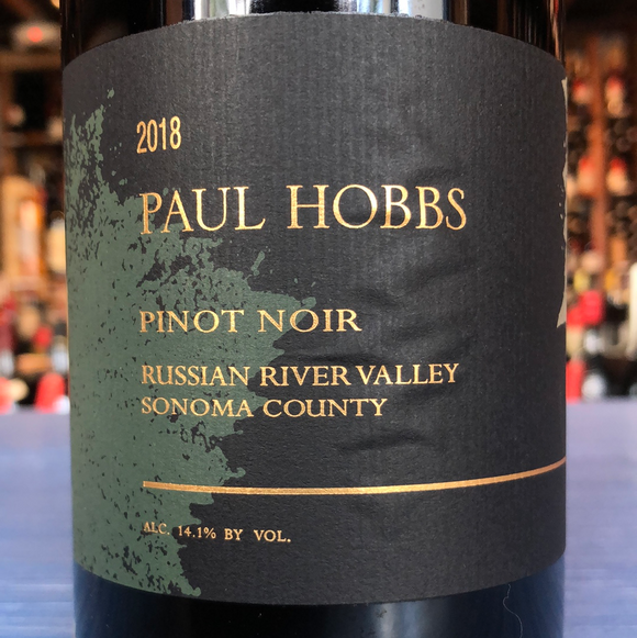 PAUL HOBBS RUSSIAN RIVER VALLEY SONOMA COUNTY PINOT NOIR 2018