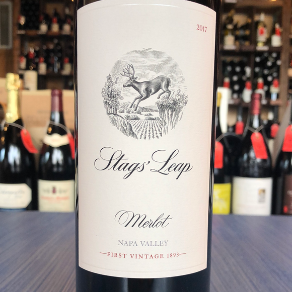 STAGS' LEAP WINERY NAPA VALLEY  MERLOT 2017