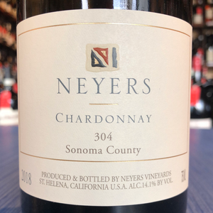 NEYERS VINEYARDS CHARDONNAY 304 2018