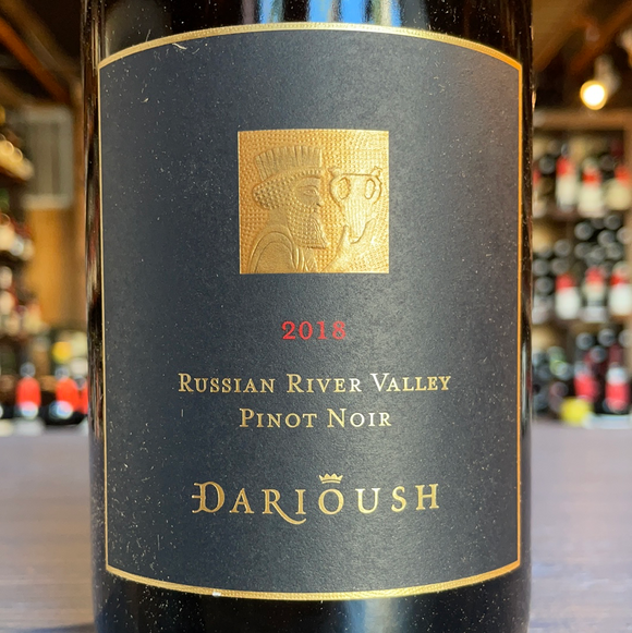 DARIOUSH RUSSIAN RIVER VALLEY PINOT NOIR 2018