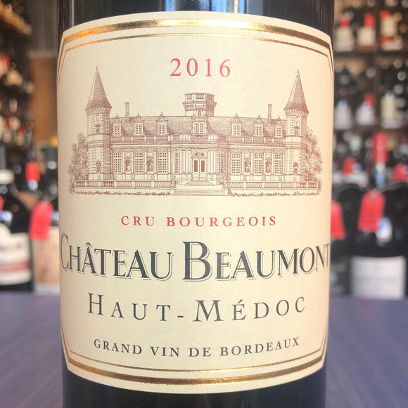 CHATEAU BEAUMONT CRUS BOURGEOIS HAUT MEDOC 2016