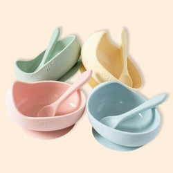 Wild Silicone Bowl Set - Core Colours