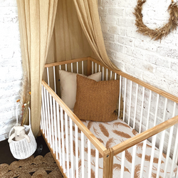 The Prairie Muslin Cot Sheets