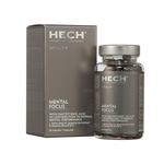 Load image into Gallery viewer, HECH Vitality Mental Focus Dose mit 60 Kapseln