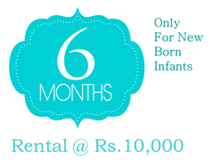 6 Months Rental-Buy Less and Save More on Baby Gear
