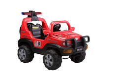 Battery Operated Jeep-Red