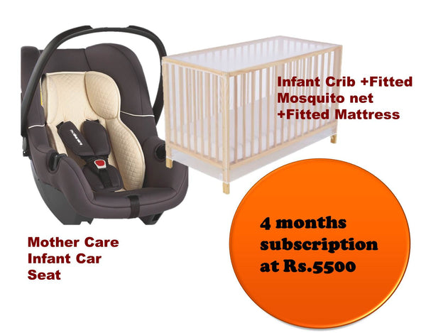MotherCare Infant Car Seat and Baby Crib-Super Savings-TheGbabe Rentals