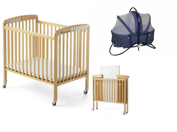 Foldable Baby Crib & Cradle -TheGbabe Rentals