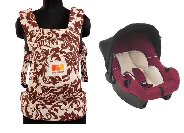 Infant Baby Carrier and Infant Car Seat-Thegbabe Rentals Pune