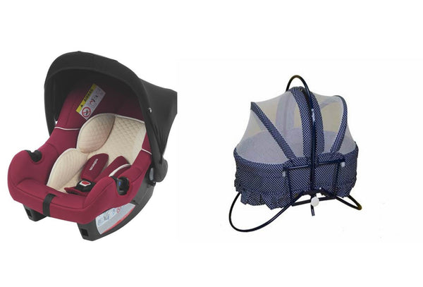 Portable Cradle and Infant Carseat -Thegbabe Rentals