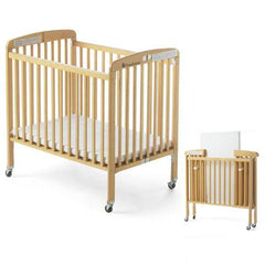 Foldable Wooden Crib for Infants and New Born-Thegbabe Rentals