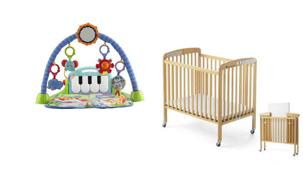 Infant Playgym and Foldable Crib- TheGbabe Rentals