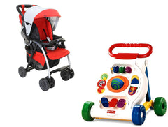 Chicco Simplicity Stroller and Fisher Price Walker