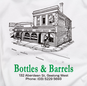 Bottle & Barrels T-Shirt [White]